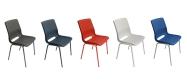 Ana stol skal & stel farver